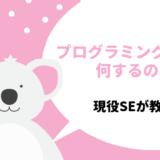 【小学生向け】プログラミング教室の内容・カリキュラムをわかりやすく解説!